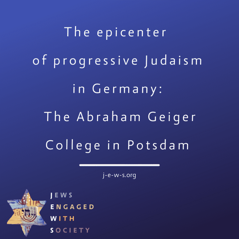 Read more about the article The epicenter of progressive Judaism in Germany: The Abraham Geiger College in Potsdam