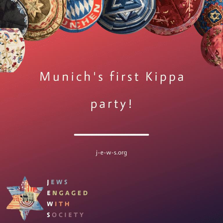 Munich's first Kippa party!