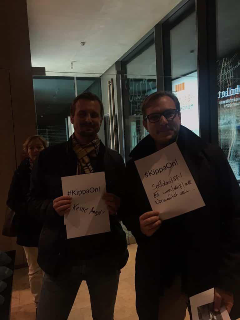 First Kippa Party in Munich, Germany, Jews, Terry Swartzberg, Joyous Judaism in Europe