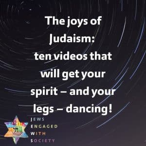 For a joyous Judaism in Europe