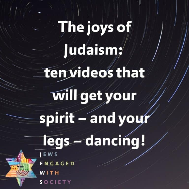 The joys of Judaism: ten videos that will get your spirit – and your legs – dancing!