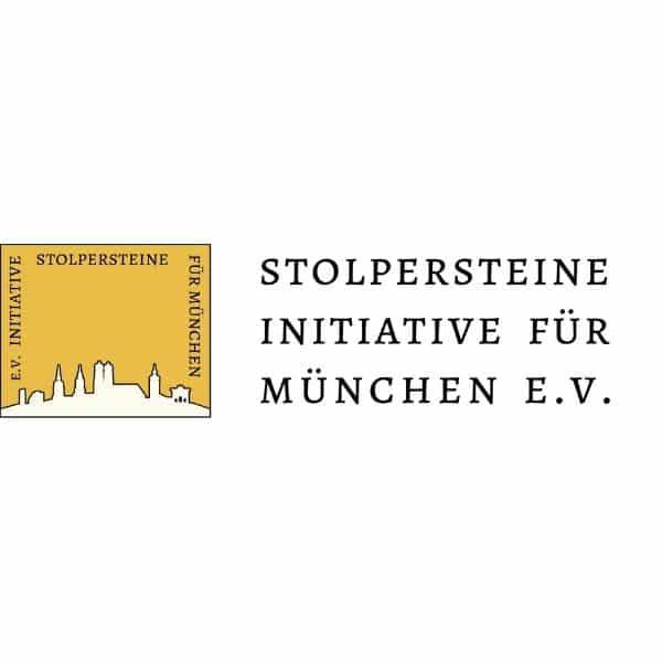 Stolpersteine Initiative für München e. V. - logo
