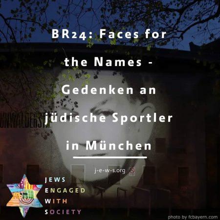 BR24: Faces for the Names - Gedenken an jüdische Sportler in München