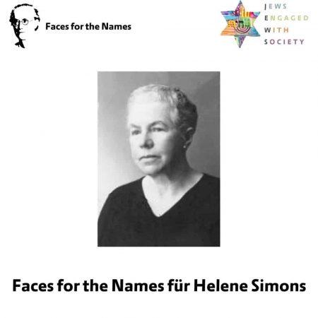 Faces for the names - Helene Simons