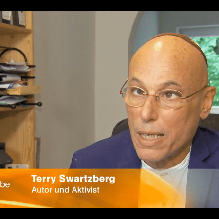 Terry Swartzberg #kippaon TV interview